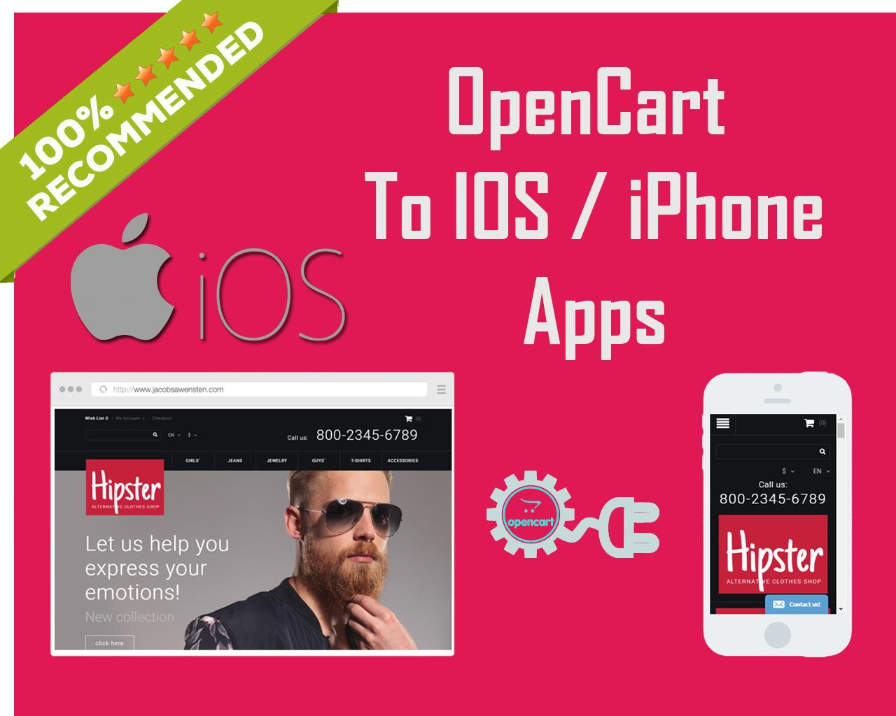 Opencart Design to IOS App by itechnotion - 108063