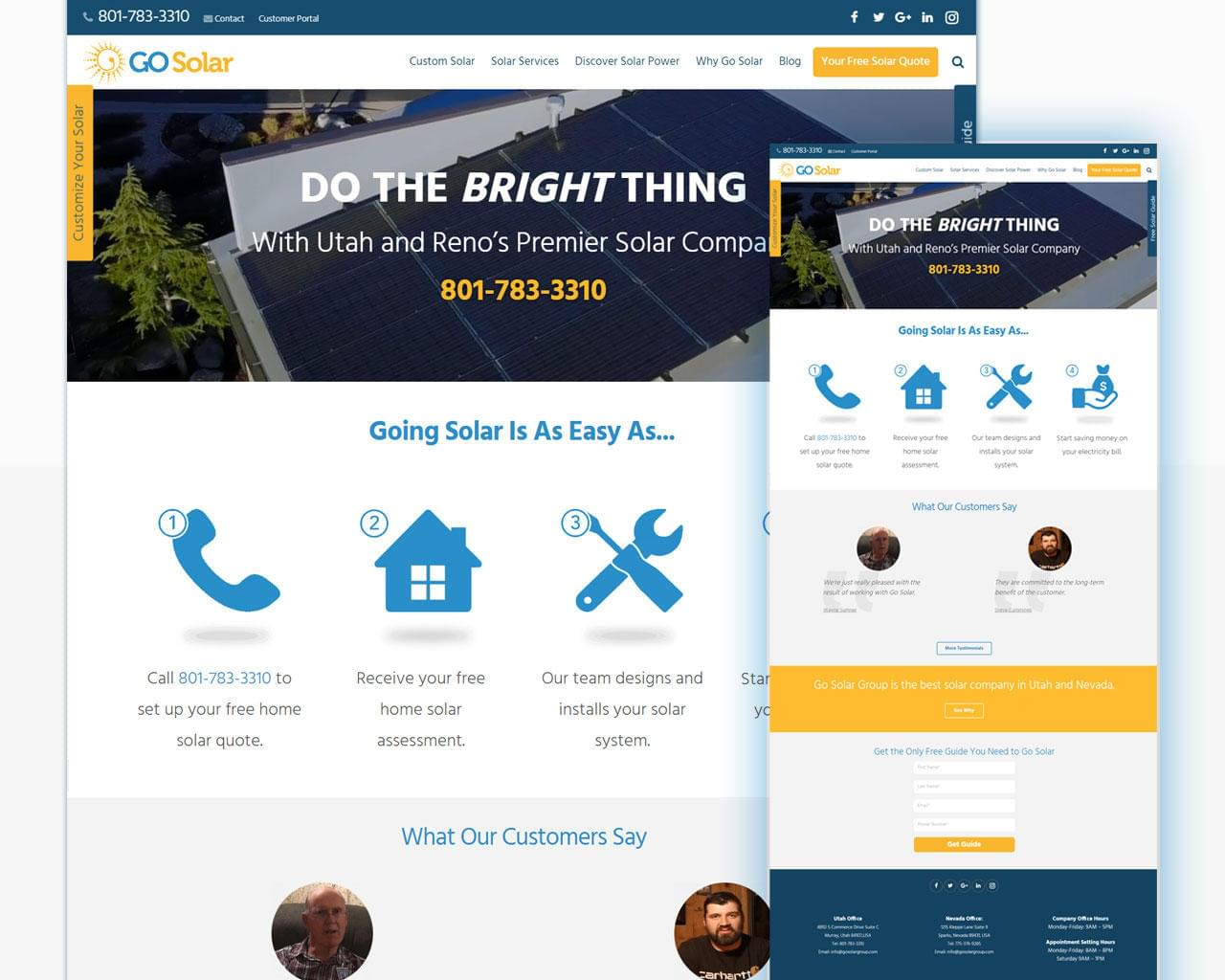 Professional Website Template Design / Landing Pages Design by sherbdr - 113033