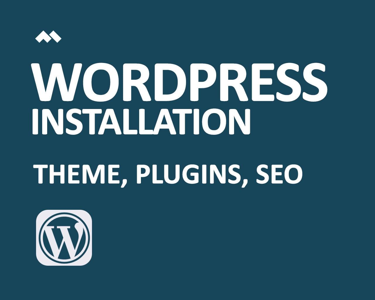WordPress Theme Installation (Secure, Backup, SEO, Cache & Optimization) -  All in One by minimalthemes - 113732