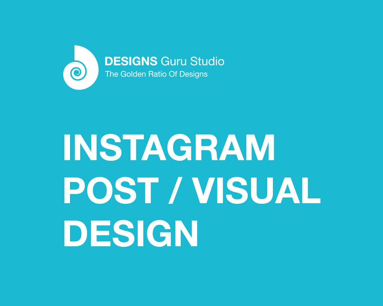 Instagram Post / Visual Design by designsgurustudio - 116359