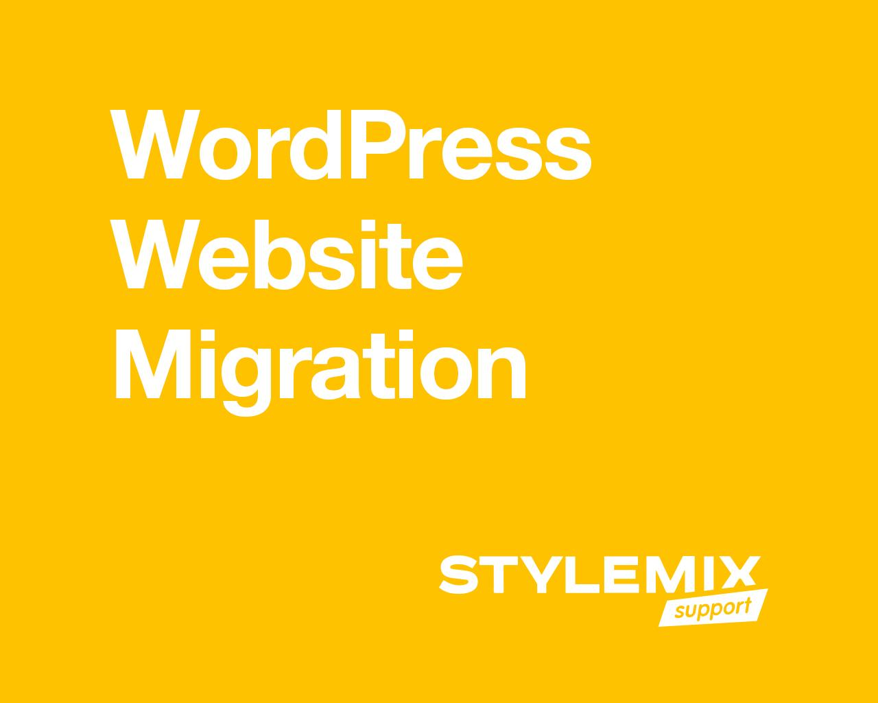 WordPress Website Migration by StylemixThemes - 80270