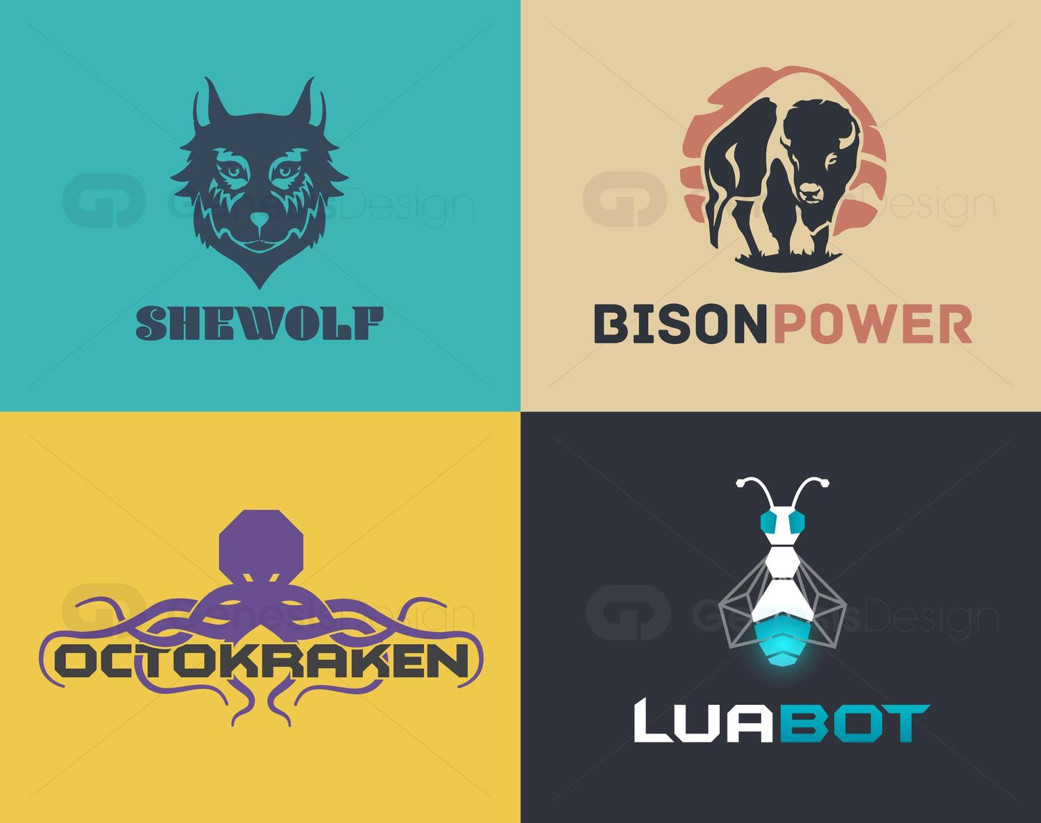 Unique and Illustrative Logo Design by GenesisDesign - 102087