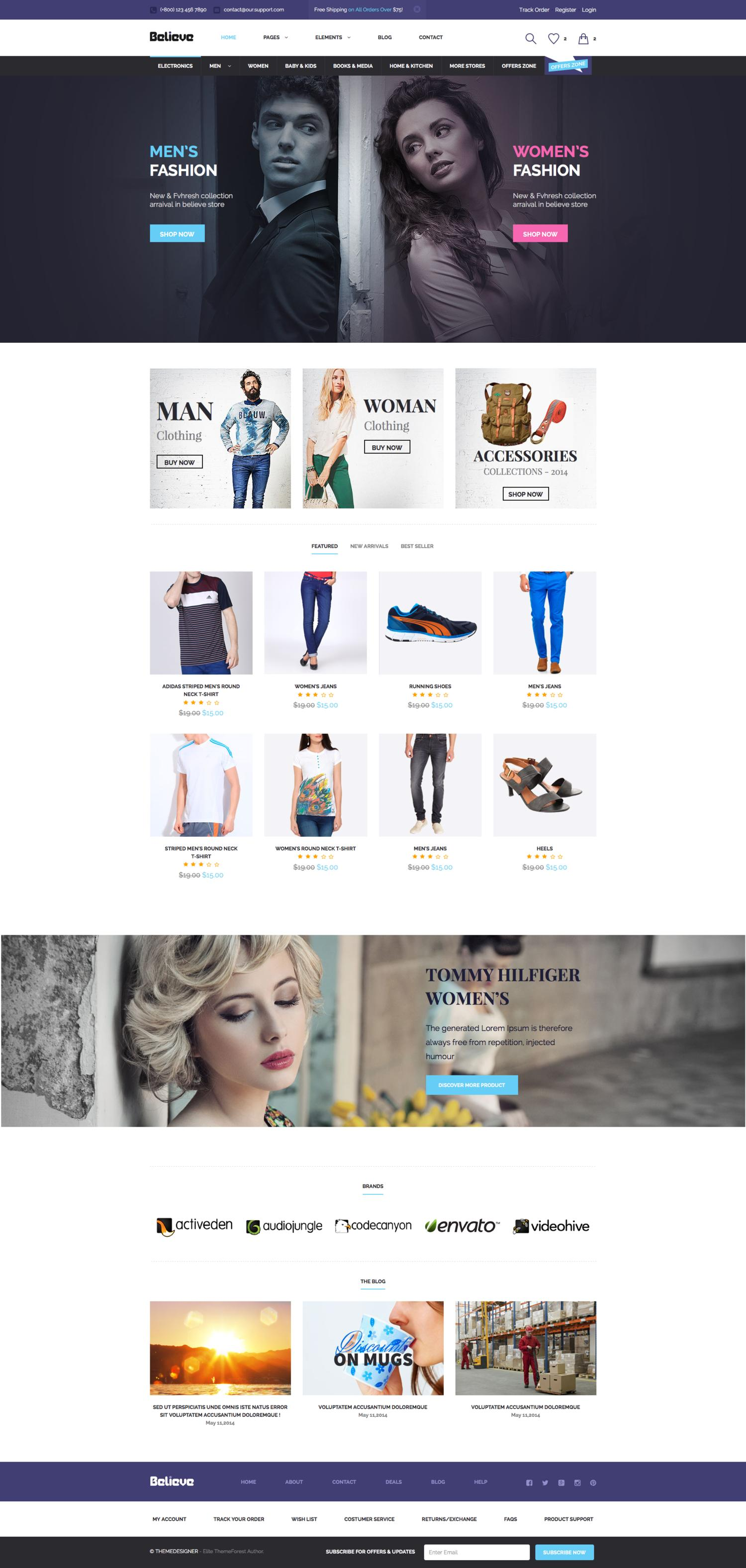 PSD to WordPress Theme Service with Marketplace Standard by minimalthemes - 94505