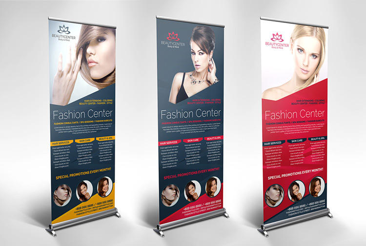 Signage Roll Up Banners and BillBoard Customization by GilleDeVille - 53194