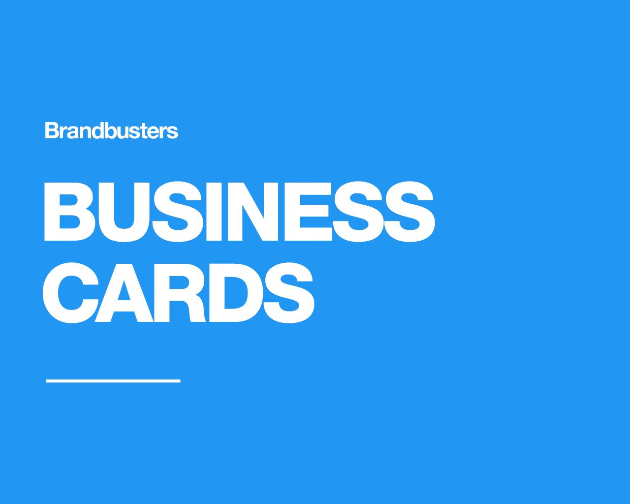 Professional Business Card Design by Brandbusters - 110653