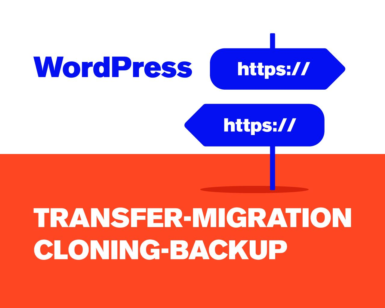 Transfer-Migration-Cloning-Backup of WordPress Website by goografx - 109723