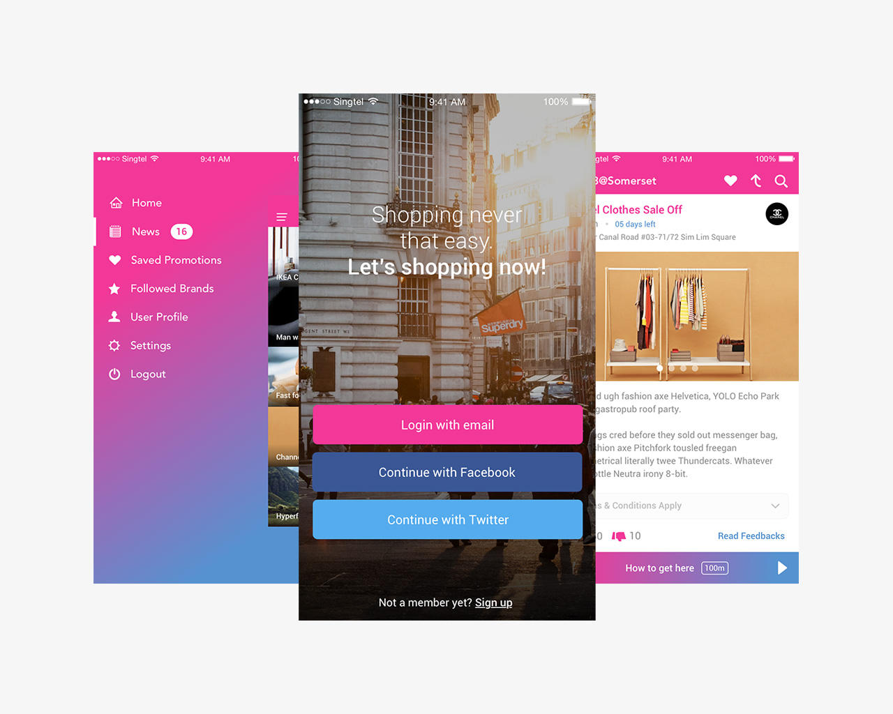 Mobile Application UI Design by hoanggiang12 - 85080