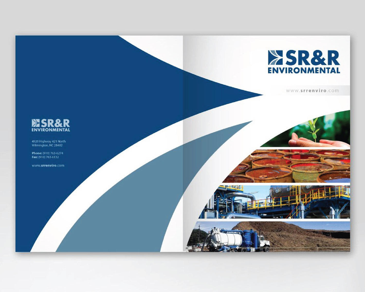 Professional company brochure design by carlos fernando on for Brochure for web design company
