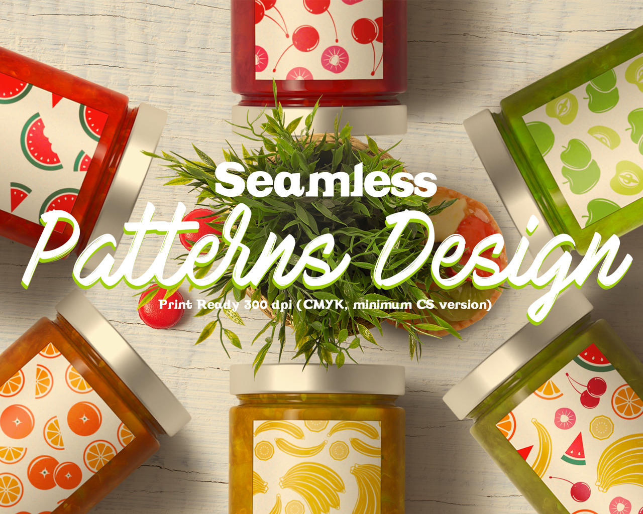 Seamless Patterns Design by Wutip - 102449