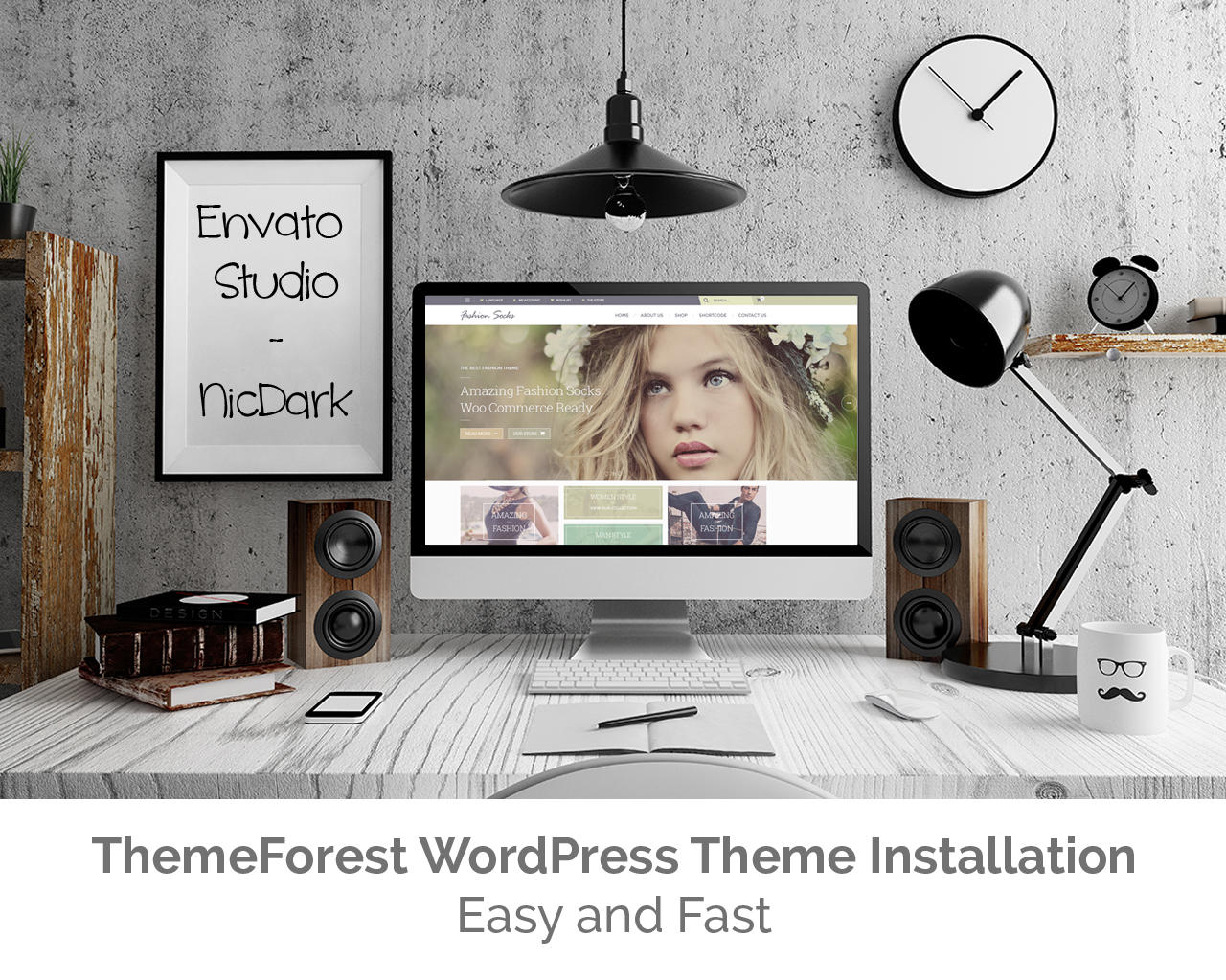 ThemeForest WordPress Theme Installation by nicdark - 63097