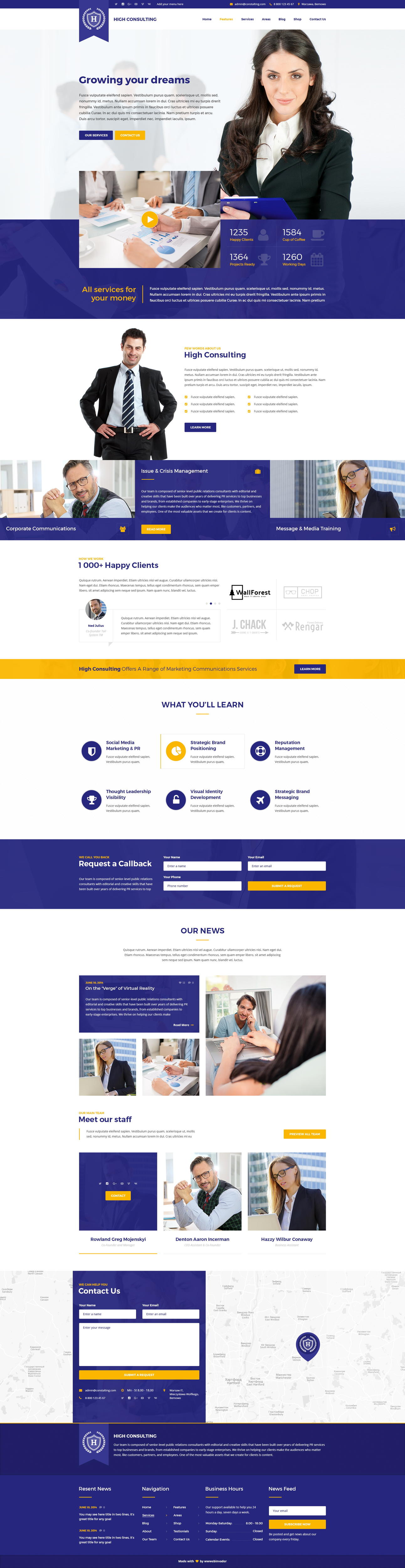 Premium Professional Full Website Design or Redesign (PSD) by wwwebinvader - 99824