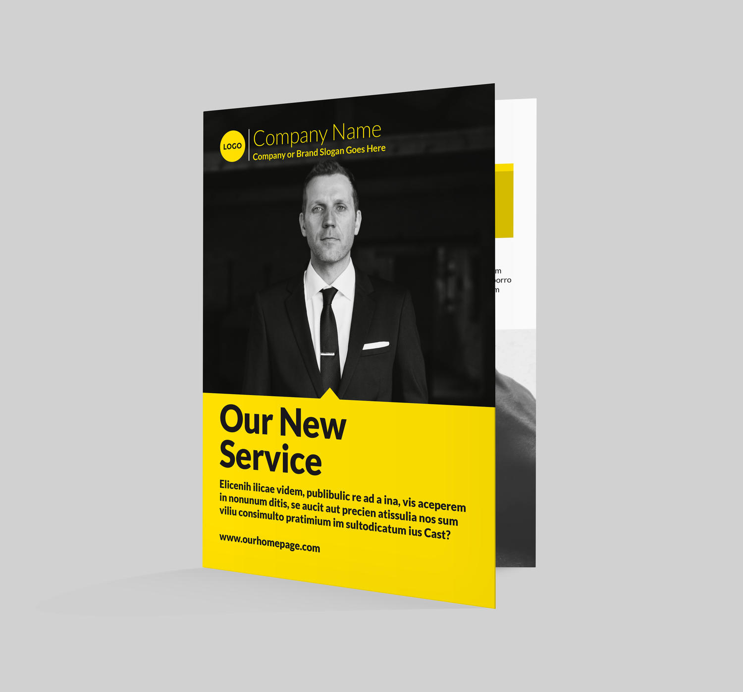 Premium Bi Fold 4 pages A4Letter Brochure Design