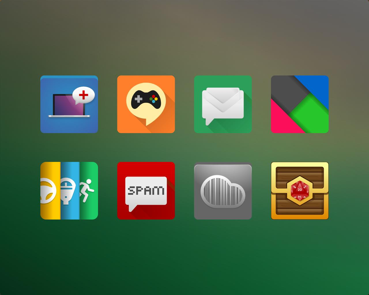 Lollipop Style Android App Icon Design by artworkbean - 63099
