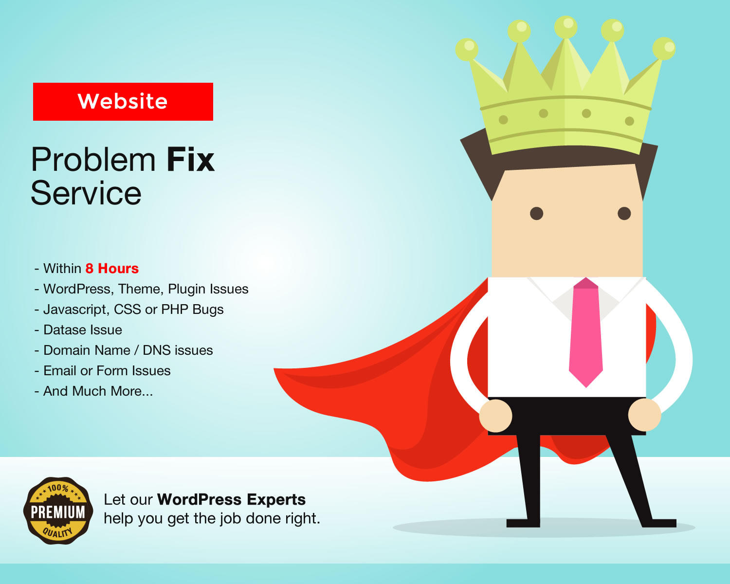 Website or WordPress Problem Fix Service by kentonwebdesign - 105135