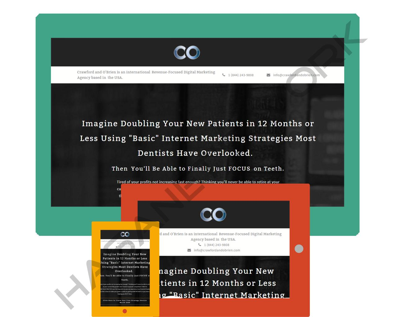 Responsive Landing Page Development with Leadpages Template by hasanet - 99501
