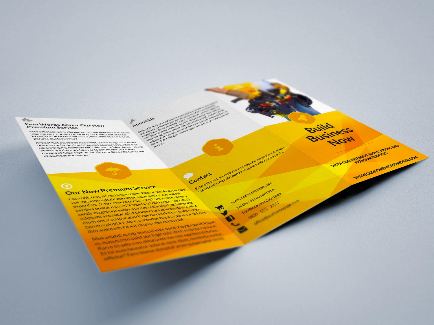letter format writing%0A Premium Tri fold A  Letter Brochure Design Service