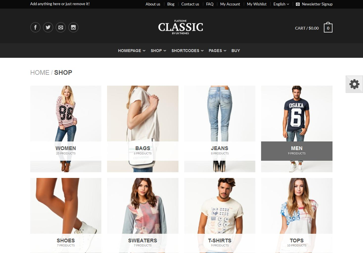 Flatsome and WooCommerce Flatsome and WooCommerce by