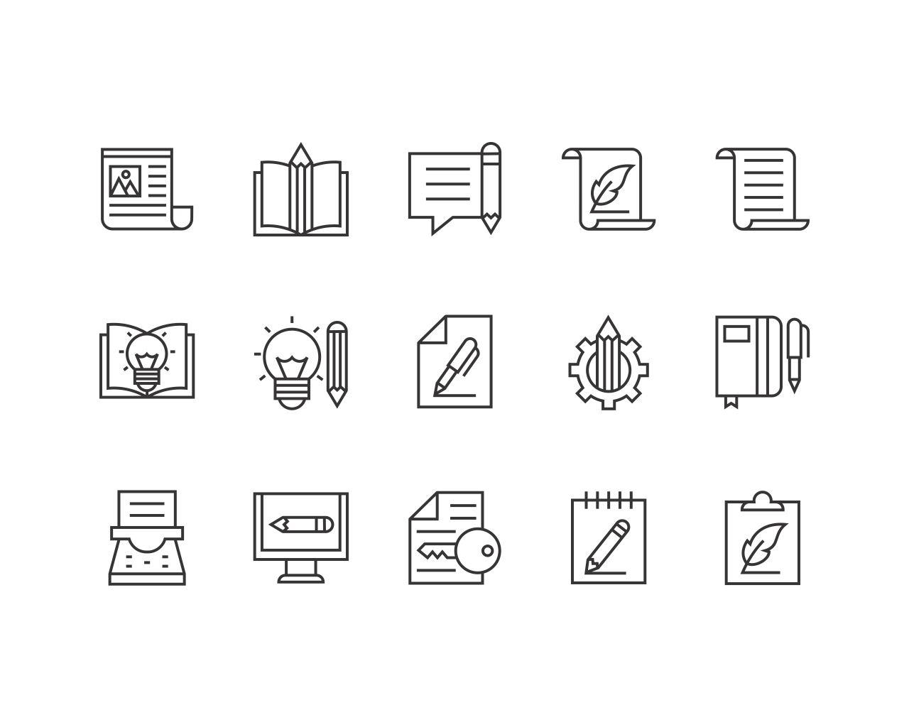 High Quality Icon Set Design by vector_factory - 109893