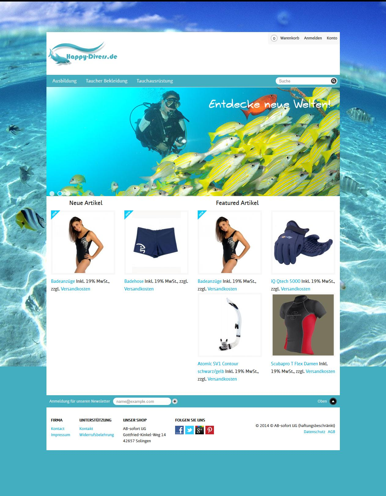 Complete Magento eCommerce Website with Shopping Cart by intecinfosys - 44710