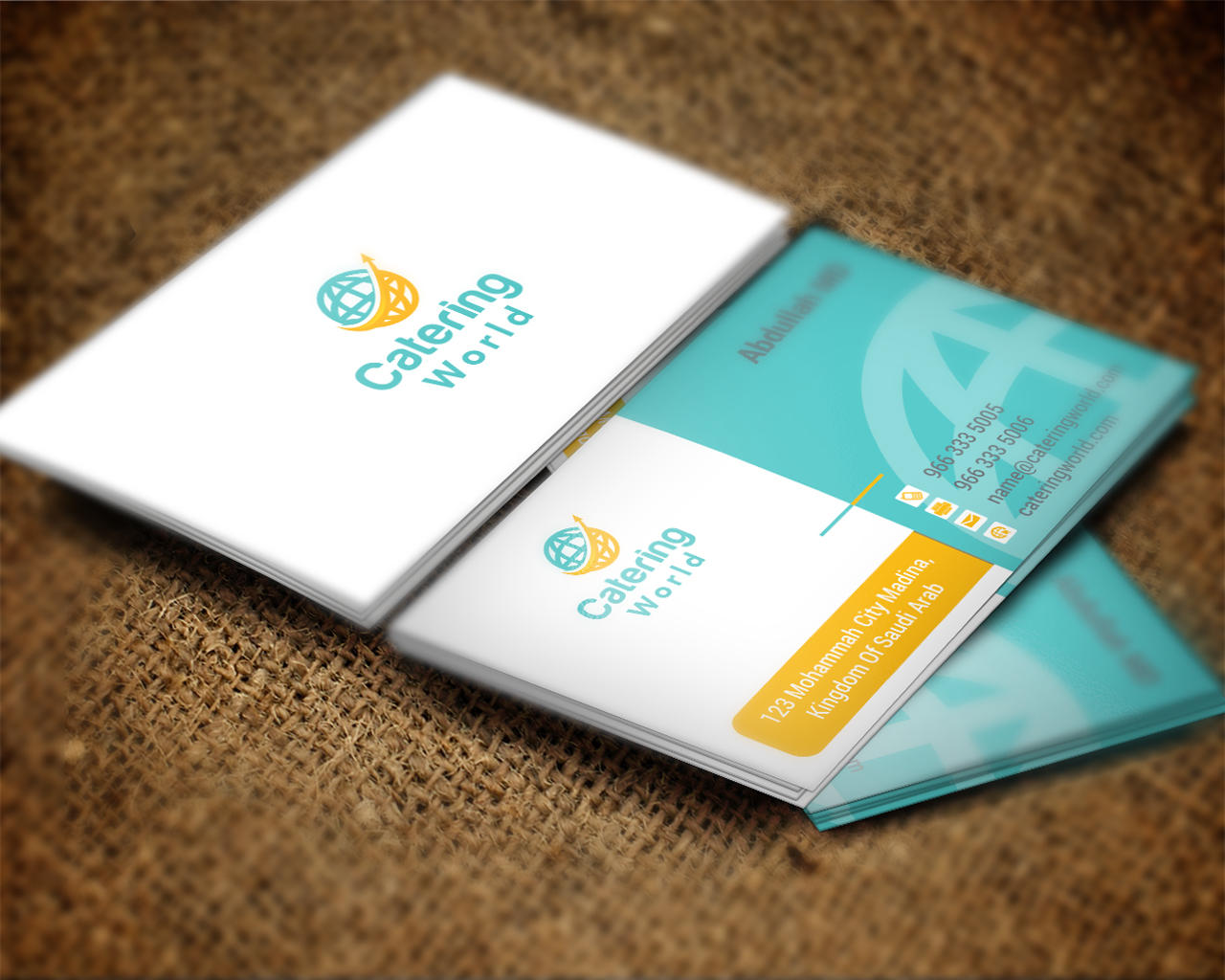 Unique business card design by shujaktk on envato studio unique business card design colourmoves