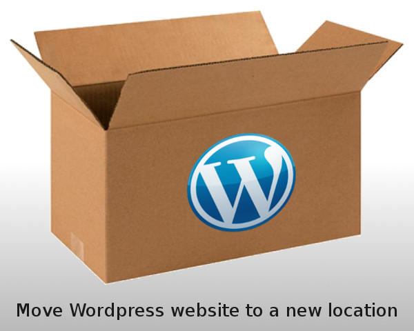 Move Wordpress Website To A New Location / URL by gijsw - 52802