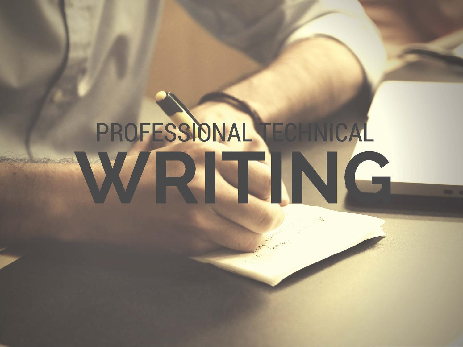 Professional Technical Writing by cocanojm - 73745
