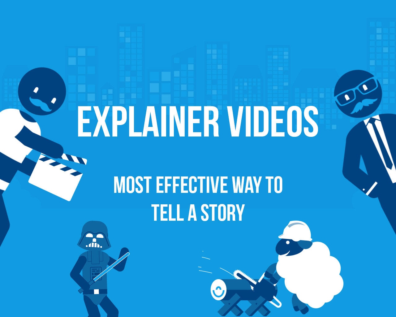 Animated Explainer Video (30 seconds) + Voice Over by kiwiplay - 109298