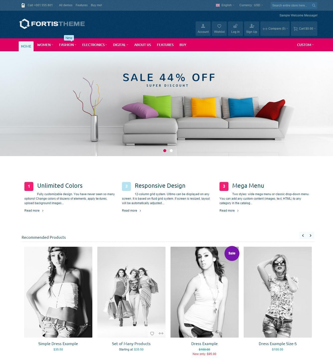 Magento Theme Installation & Demo Import  by CoralixThemes - 115458