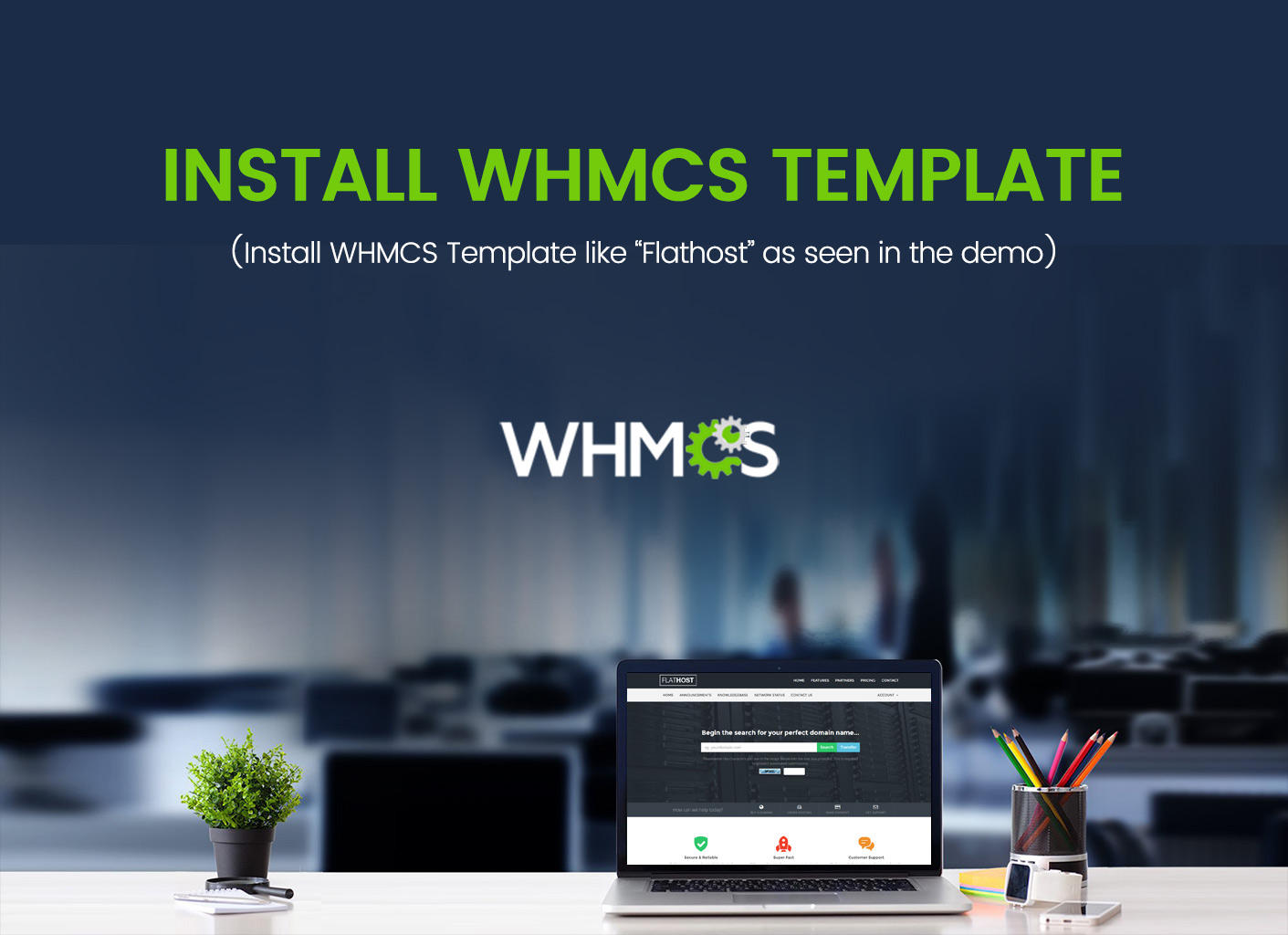 Install WHMCS Template as seen in the Demo by surjithctly - 101486