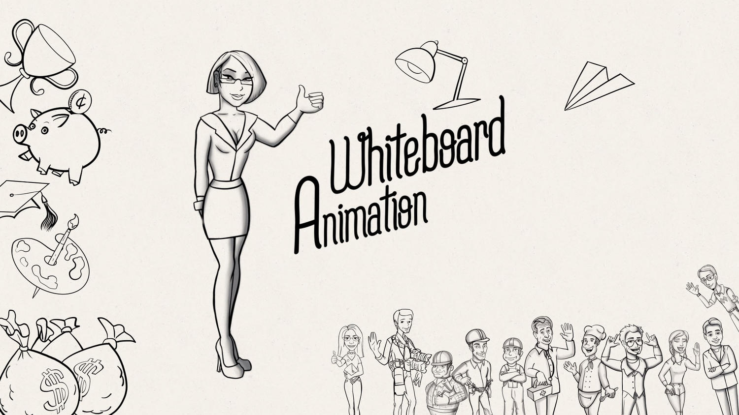 Whiteboard Animated Explainer Video (60 seconds + Voice Over) by crazysheep_studio - 110261
