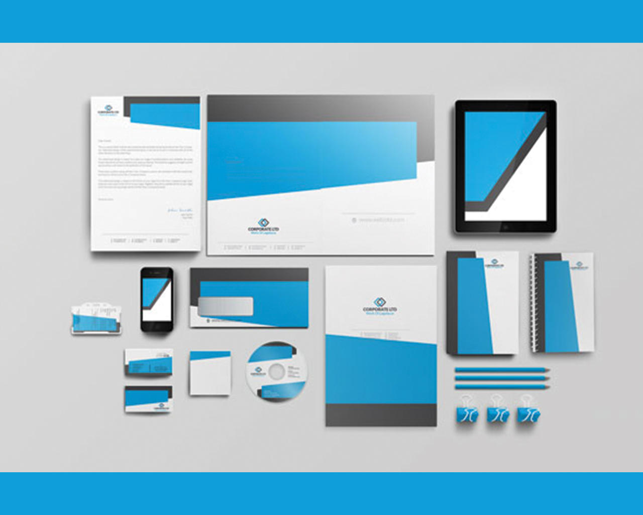 Logo & Complete Corporate Identity and Branding Service by shujaktk - 102603