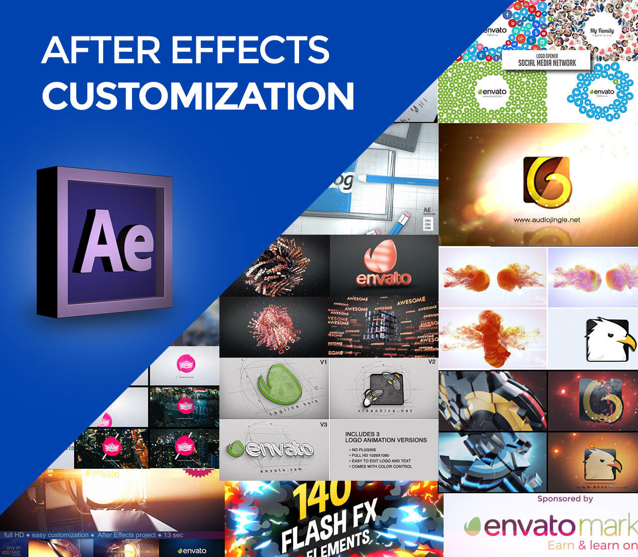 Express Advanced After Effects Customization by CoralixThemes - 87246