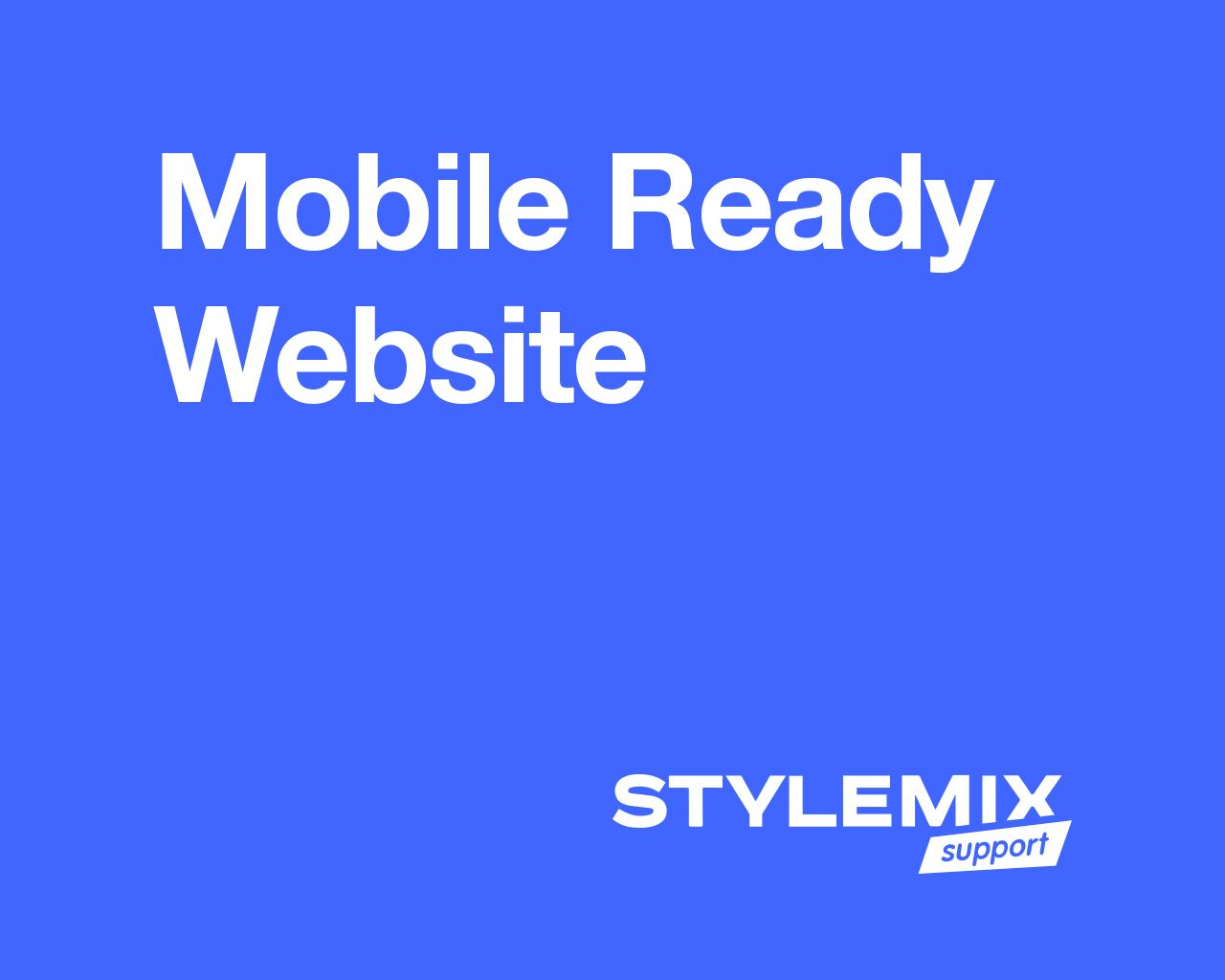 Mobile Ready Website by StylemixThemes - 83919