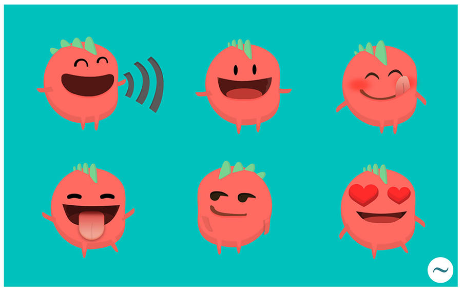 Emoji Smiley Emoticon Design by latilde - 41794