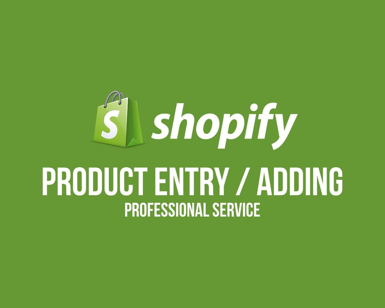 Shopify Product Data Entry / Adding ( 30 products ) by dadtective - 112277