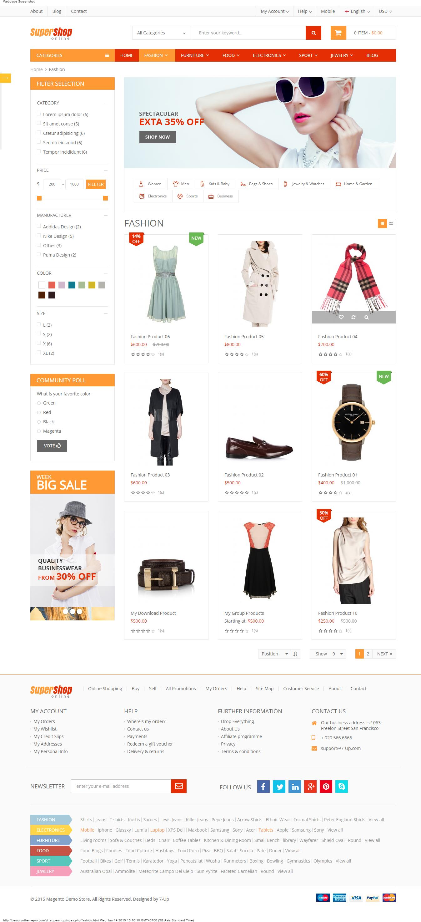 Themeforest Magento Theme Installation and Demo Setup by Greatkhanjoy - 68803