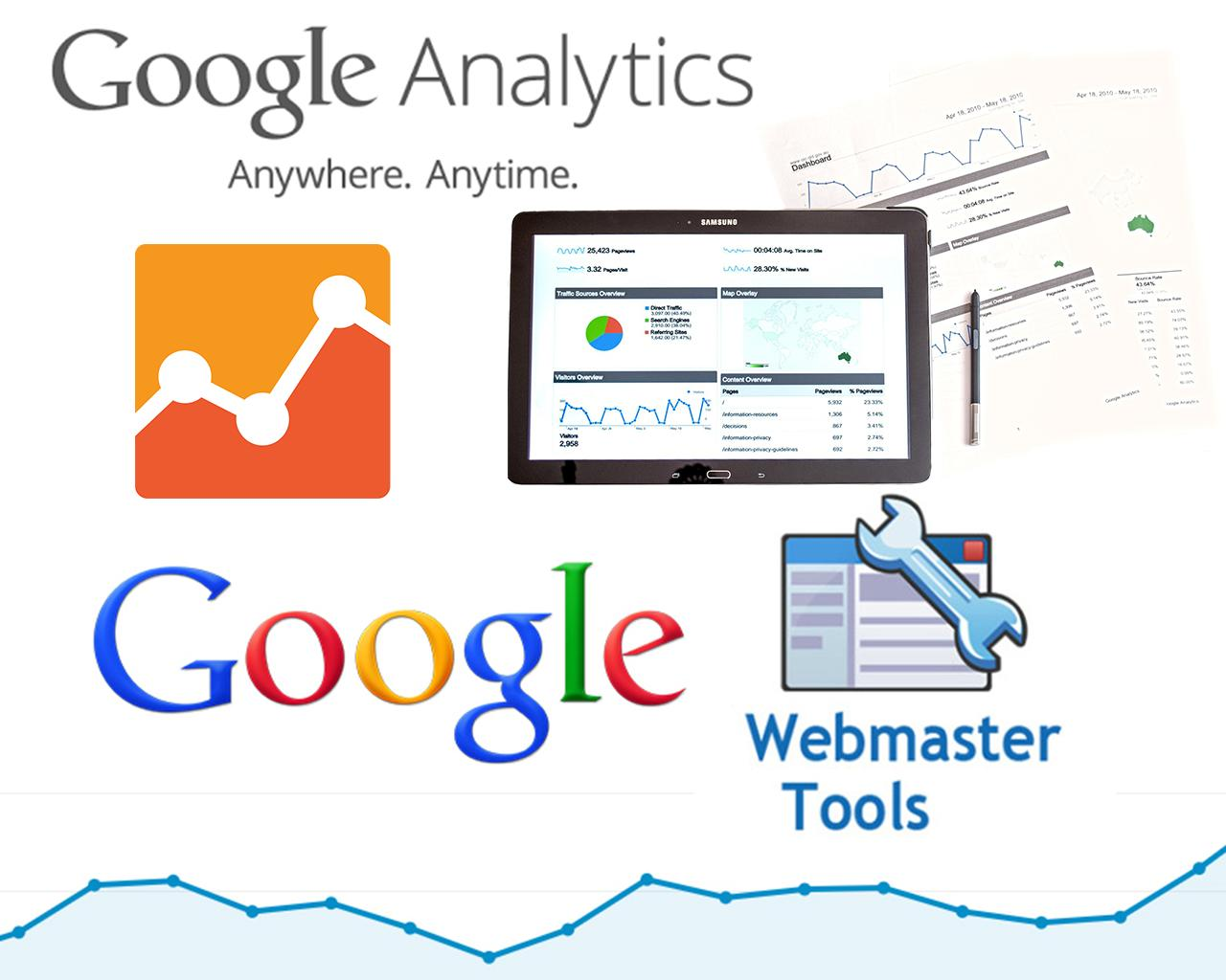 setup google analytics webmaster tools and sitemap by zivdesign on