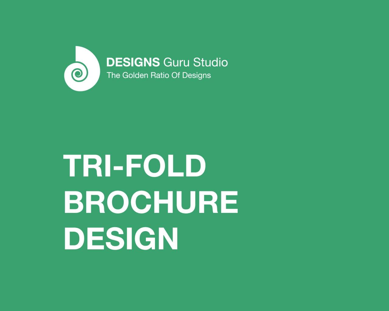 Tri-Fold Brochure Design by designsgurustudio - 111718