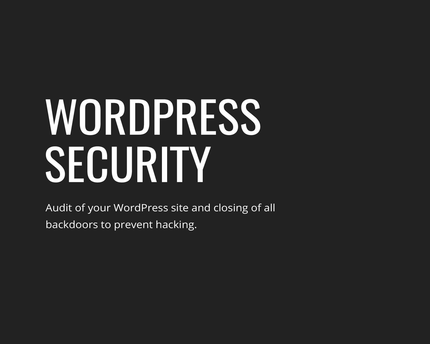 Express Security Wordpress Service by gljivec - 114604