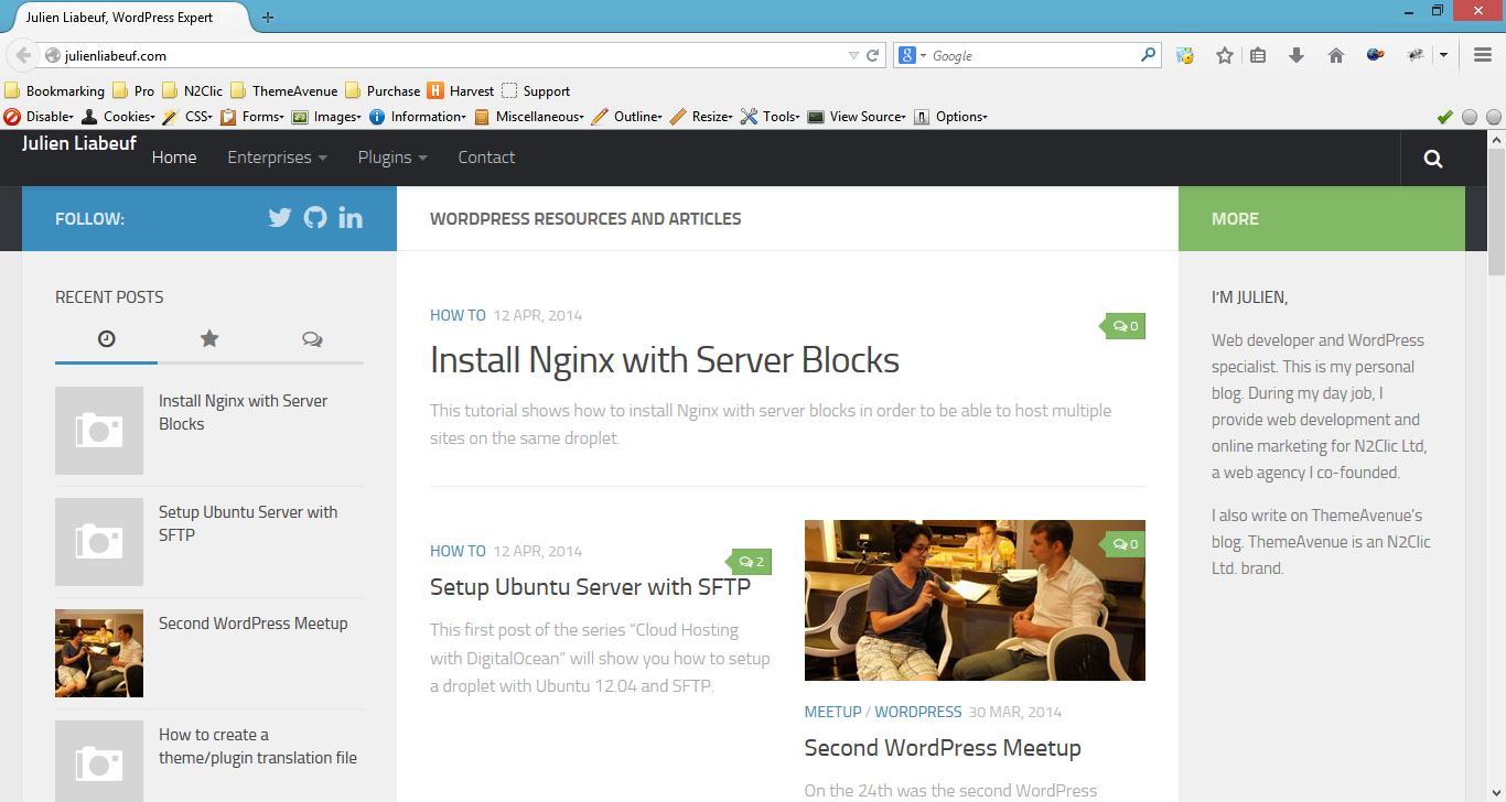 wordpress full monty  hosting  theme  plugins installation