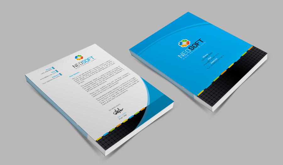 Corporate Creative Professional Letterhead Design By Contestdesign