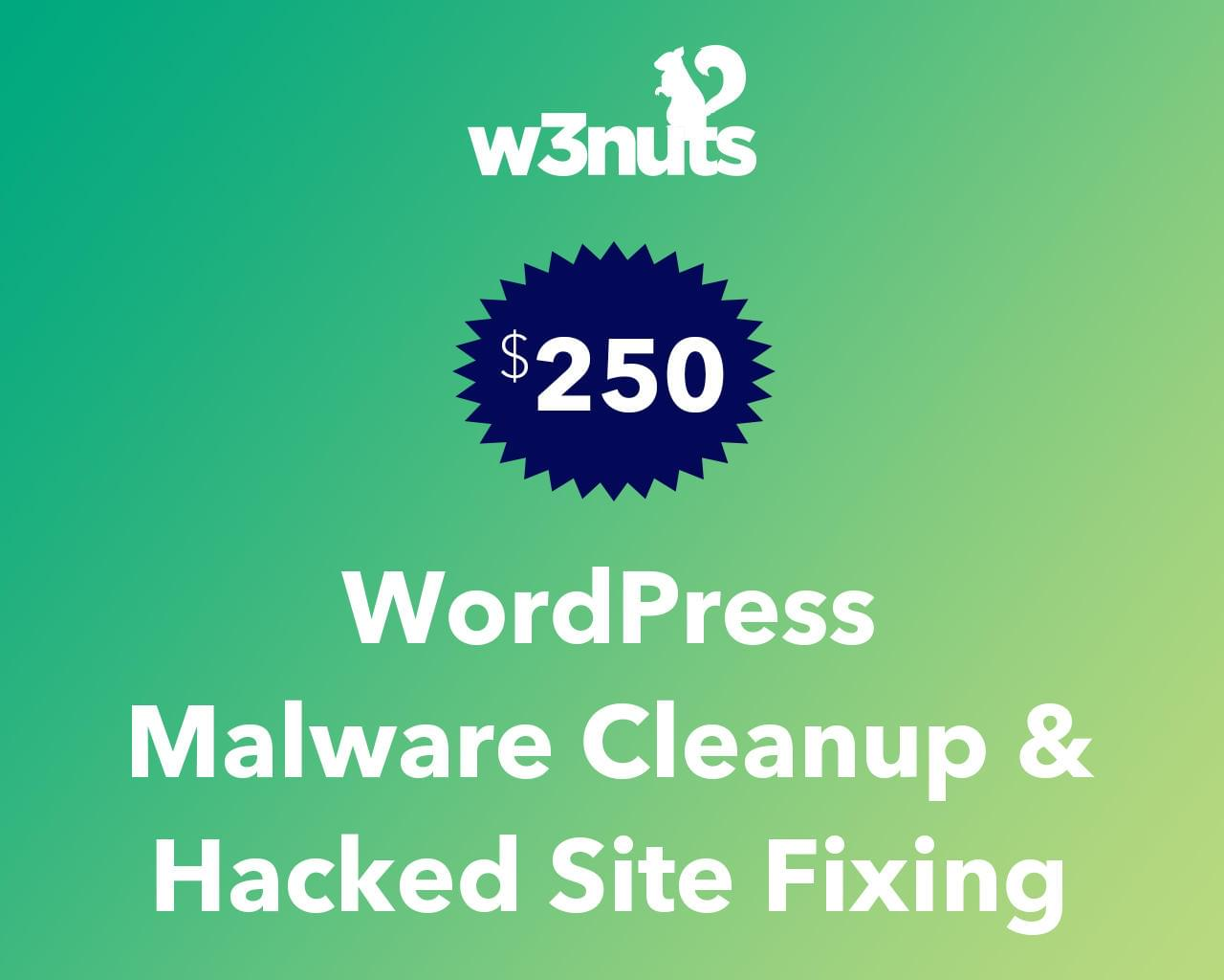 WordPress Malware Cleanup & Hacked Site Fixing by samirkaila - 116085