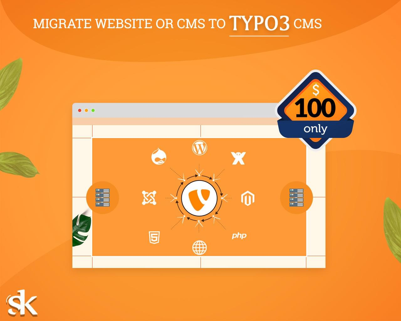 Migrate Website or CMS to TYPO3 CMS by SK-Web-Solutions - 115837
