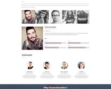 Premium Home Page Web Design