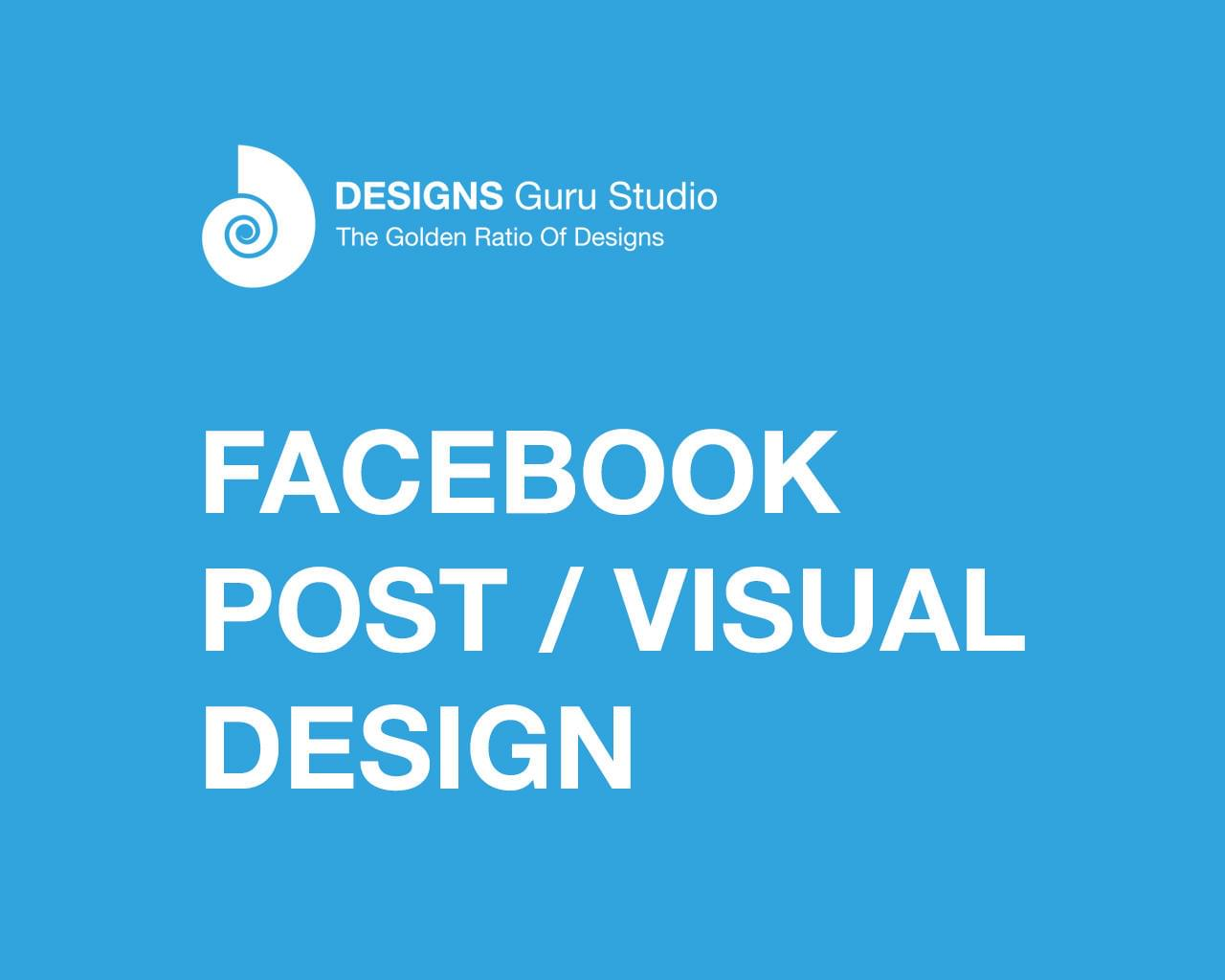 Facebook Post / Visual Design by designsgurustudio - 116364