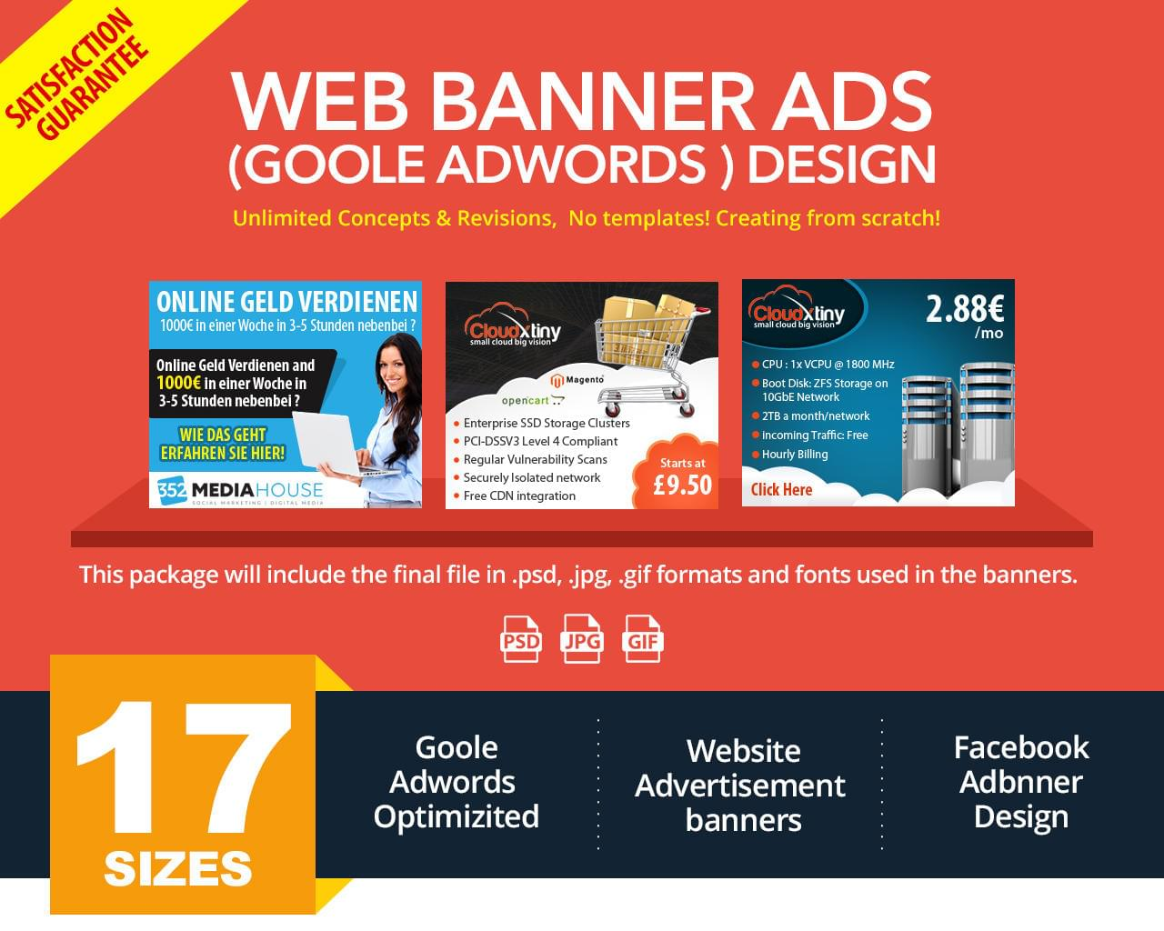 Web Banner Design by sudiptaexpert - 111630