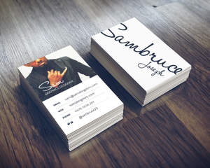 Minimal multipurpose business card by sambruce on envato studio minimal multipurpose business card colourmoves Images