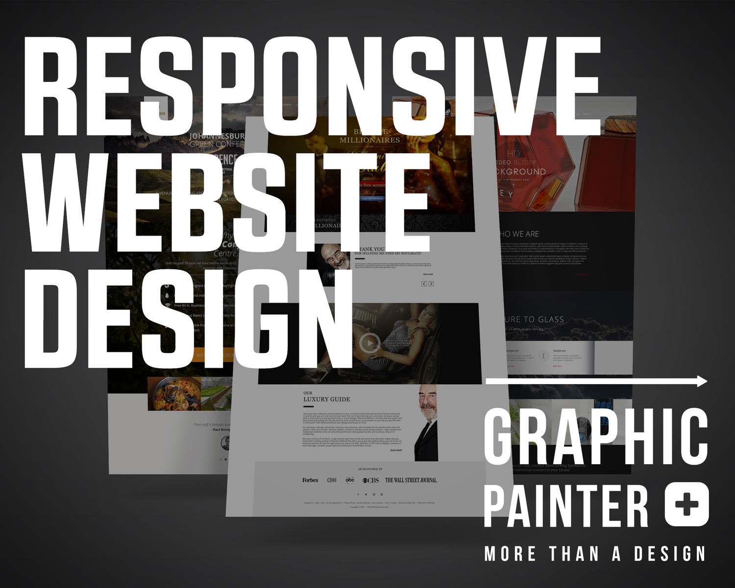 Modern Responsive  Website Design by colorgum - 74212