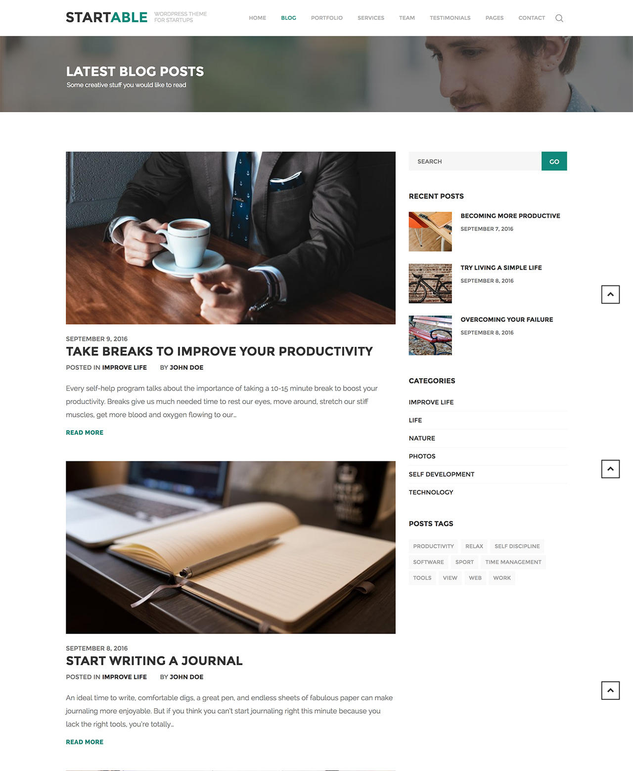 PSD or Sketch to High Quality Responsive WordPress Theme by InspiryThemes - 104373