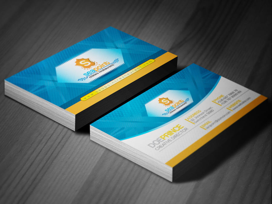 Corporate Business Card by ContestDesign on Envato Studio